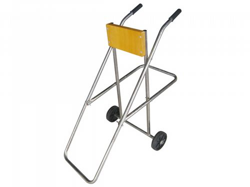 Outboard Motor Engine Holding Trolley & Stand - Boat Marine Storage Rack Carrier 2 Stroke
